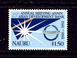 Nauru 396 MNH 1992 Asian Development Bank