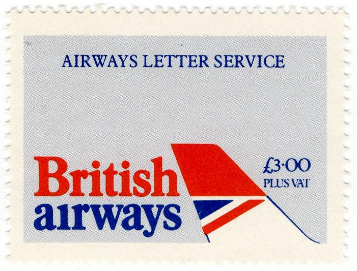 (I.B-JA) Cinderella Collection : British Airways Air Letter Service £3