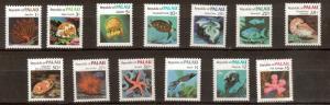 Palau 9 - 21 - Sea Life Issues MNH. OG. Set Of 13    #02 PAL9s
