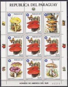 Paraguay #2167 MNH Mini-Sheet CV $12.50 (K2727L)