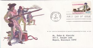1977, The Leatherworker, PAC, FDC (E12290)