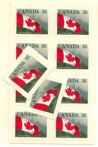 Canada - 1989 38c Quick Stick Flag X 10 VF-NH #1191