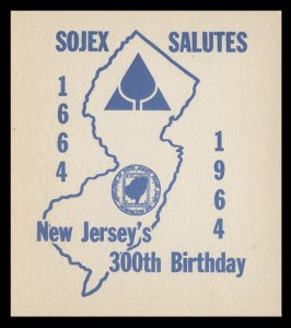 SOJEX 1964 (29th) Stamp Show - MINT, Never Hinged, F-VF or Better