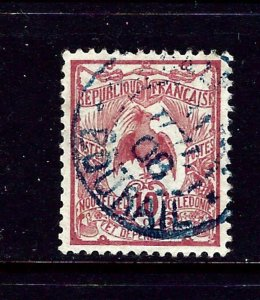 New Caledonia 93 Used 1905 issue