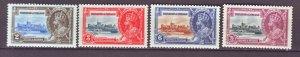 J22146 Jlstamps 1935 trindad & tobago set mnh #43-6 silver jubilee