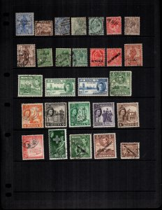 Malta   27  different mint hinged and used