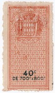 (I.B) Monaco Revenue : Effets de Commerce 40c