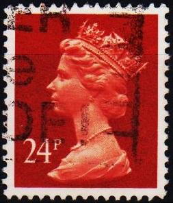 Great Britain. 1989 24p S.G.X968 Fine Used