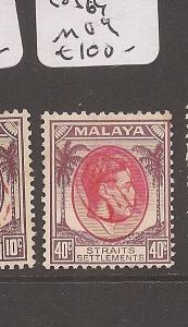 Malaya Jap Oc Penang 40c Okugawa SG J64 MOG (10avp)