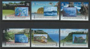 Pitcairn Islands Scott 697-702! Scenes! Complete Set! MNH!