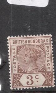 British Honduras SG 53 MOG (9dhw)