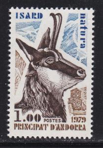 Andorra-French 267 MNH 1979 Nature Protection