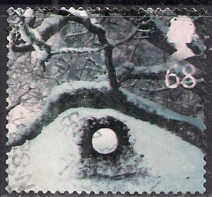GB 2003 QE2 68p Christmas Ice Scultures used  SG 2414 ( D1024 )