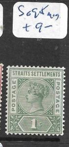 MALAYA STRAITS SETTLEMENTS  (P0206B)  QV  1C   SG 95          MOG