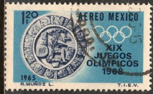MEXICO C310, $1.20 1st Pre-Olympic Issue - 1965 Used. F-VF. (39)