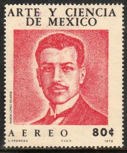 MEXICO C399, Art and Science of Mexico (Series 2). MINT, NH. F-VF.