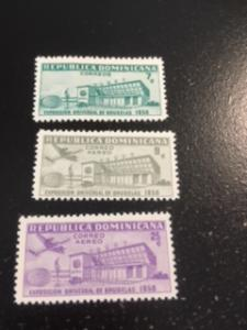 Dominican Republic sc 507,C109-C110 MNH comp set