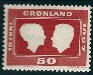 Greenland (Scott #69) VF MNH...Nice!