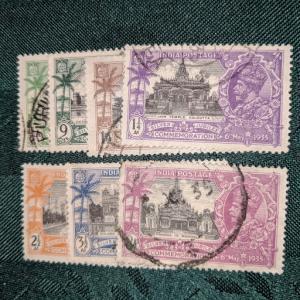India 142-8 VF, CV $11.80