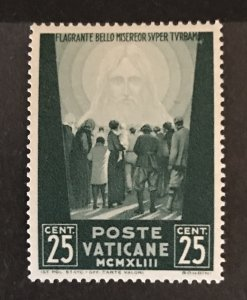 Vatican City 1942 #77, MNH, CV $.25