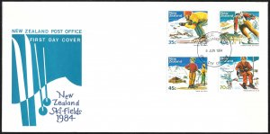 New Zealand First Day Cover [7786]