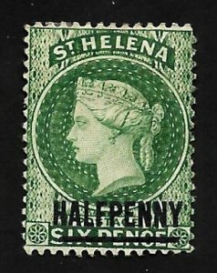 St. Helena 1884 - M - Scott #33A