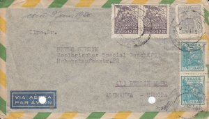 BR5) BRAZIL 1950 - LOCAL MOTIFS AND PERSONALITIES (GREYISH VIOLET)(GREY)(BLUE)
