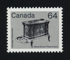 Canada 932 MNH Wood Stove
