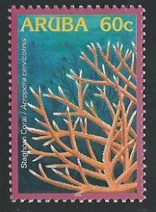 Aruba 272 60c Staghorn Coral 2005 mnh