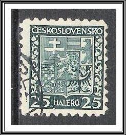 Czechoslovakia #155 Coat of Arms Used