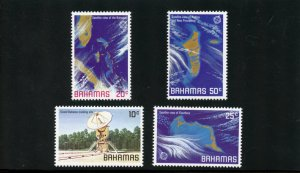 Bahamas Scott 486-89 - MVFNHOG - SCV $2.50