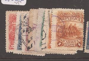 Nicaragua 1892 Columbus SC 40-9 VFU (5asm)