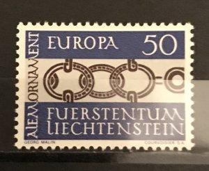 Liechtenstein 1965 #400, MNH, CV $.45