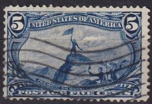 US #288 F-VF Used CV $25.00 (A19538)