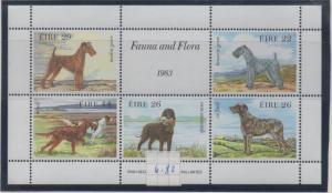 Ireland Sc 567a 1983 Dogs stamp sheet mint NH