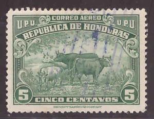 Honduras  Scott C130 Used  stamp