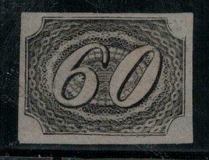Brazil 1844-1846 10 Mint NG as Scott SCV $125.00