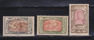 Ethiopia 130-132 MH Various