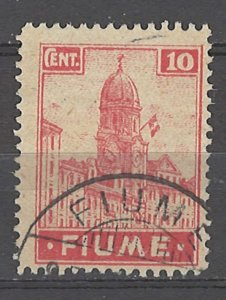 COLLECTION LOT # 4893 FIUME #30a 1919 CV+$16