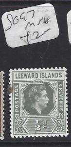 LEEWARD ISLANDS (P1710B) KGVI   1/2D   SG 97   MNH