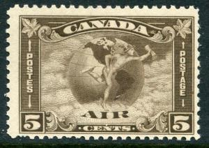 CANADA # C2 F-VF Never Hinged Issue - ALLEGORY AIR MAIL CIRCLES GLOBE - S6000