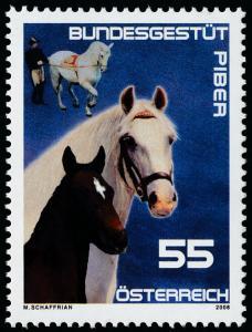 Austria 2156 MNH Horses, Federal Stud Farm