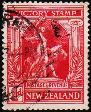 New Zealand. 1920 1d S.G.454 Fine Used