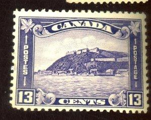 CANADA #201 MINT FVF OG LH Cat $43