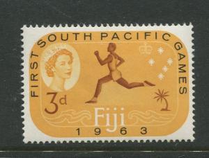 Fiji - Scott 199 - QEII General Issue 1963 - MVLH - Single 3d Stamp
