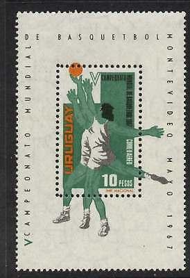 Uruguay C318 MNH Sports, basketball