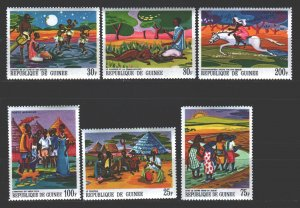 Guinea. 1968. 487-92. Legends of guinea. MNH.
