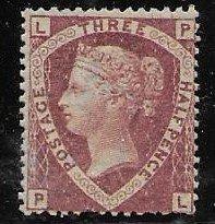 GB 32 pl 1 1870 issue mint  no gum