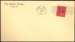 646, FIRST DAY COVER - UNOFFICIAL CITY & UNADDRESSED