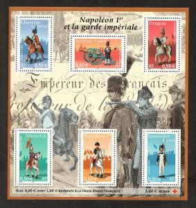 2004   FRANCE  - SG:MS 3987 - NAPOLEON IMPERIAL GAURD - UNMOUNTED MNT